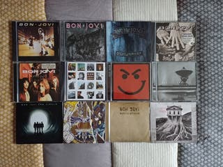 Colección discografía Bon Jovi CD