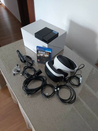 Play station VR completas con Resident Evil 7.