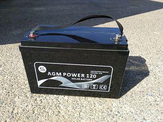 Batería AGM 120 Ah para panel solar