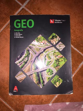 Libro Geografía 2Bach