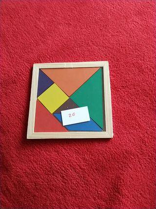 Puzzle y figuras para niños