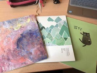Set de 3 cuadernos decorativos