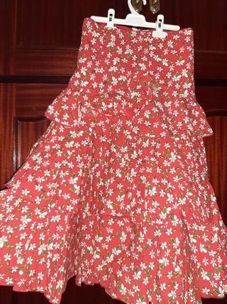 falda y camisa de gitana (feria)