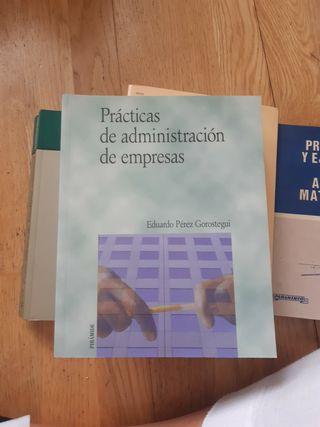 Lote libros Estadística, Matemáticas, Marketing ..