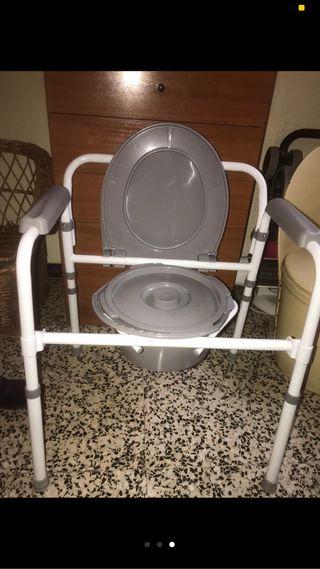 Silla WC y aseo
