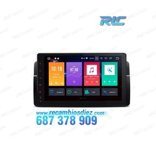 "RADIO GPS BMW E46 ANDROID 8.0 CANBUS WIFI HDMI 9"""