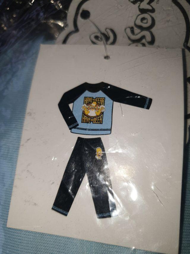 Pijama Simpsons T.M Nuevo Sin Estrenar