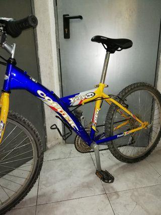 bicicleta talla 24