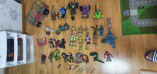 figuras juguetes tortugas ninja, power ranger..etc