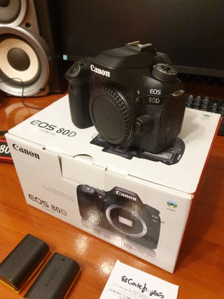 Canon EOS 80D / Camara Reflex Digital