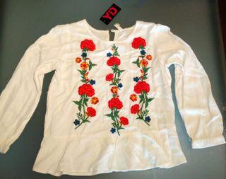 Camisa manga larga 10-11