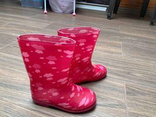 Botas de lluvia niños