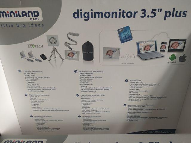 Vigilabebes miniland digimotor 3.5'' plus
