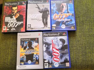 Lote james bond ps2