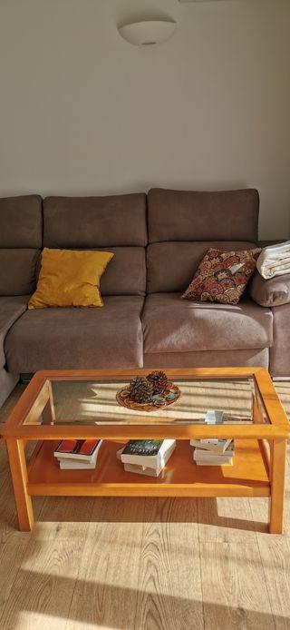 Conjunto mesa comedor, sillas y mesita