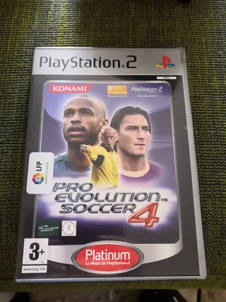 Pro evolution soccer 4 ps2