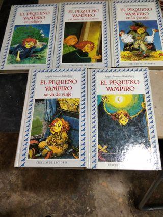 5 libros del pequeño vampiro