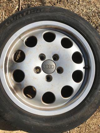 Llantas con neumáticos audi a6 y a4
