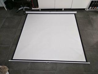 Pantalla proyector 180x180 cm
