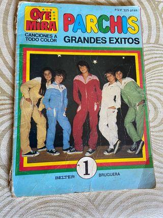 Parchis grandes éxitos oye mira 1981 libro comic