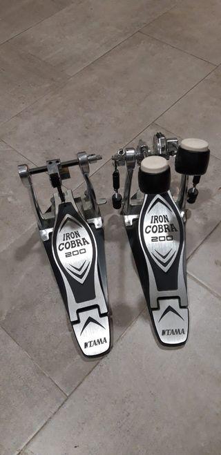 pedal doble Iron cobra pedal de Batería