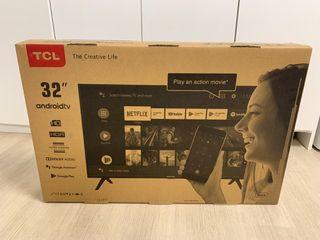 Tv tcl 32 pulgadas nueva sin abrir