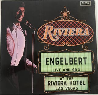Vinilo de Engelbert Live at the Riviera Hotel 1971
