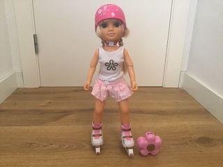 Nancy con patines