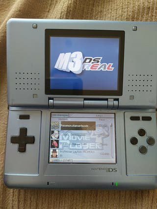 Nintendo ds Azul claro + juego