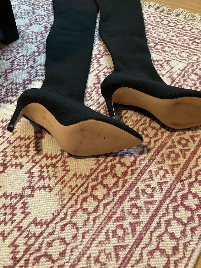 Botas súper altas
