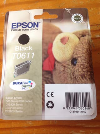 Cartucho Epson black original.