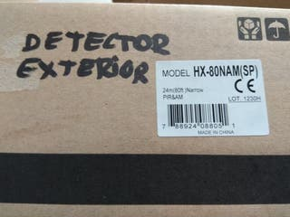Detector de intrusión de exterior ¡nuevo!