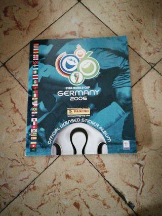 Album mundial Germany 2006 cromos