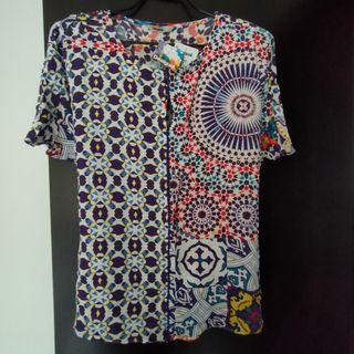 Camisa Blusa Desigual NuevaTalla L