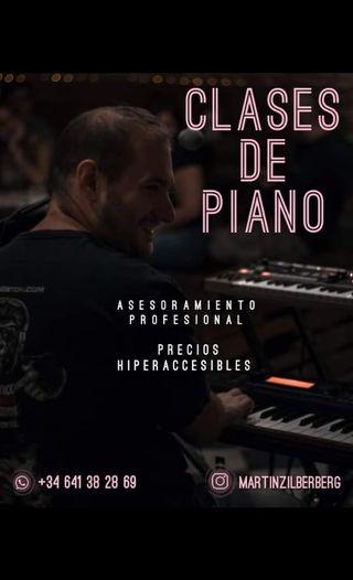Clases de Piano en Barcelona