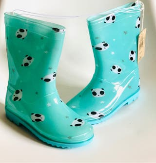 Bota de lluvia para niña nuevas tallas 28,32