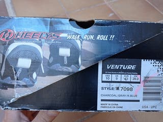 Zapatillas Heelys con una rueda de chico