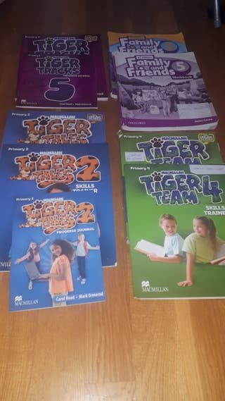 Lotes Libros Inglés Tiger Team+ Family Friends