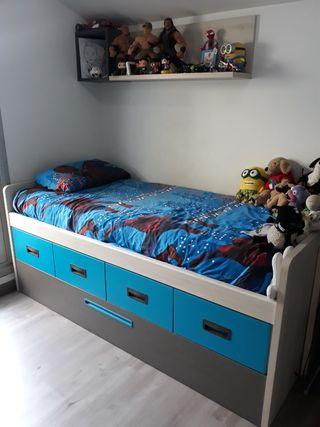 habitación juvenil niño