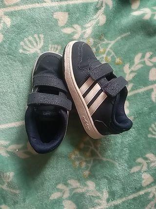 zapatillas adidas niño numero 25