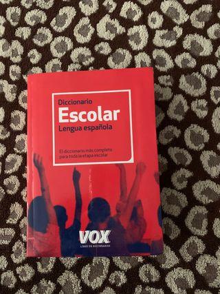 Diccionario escolar de Lengua Española Vox