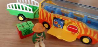 Palymobil 123, autobús safari y remolque