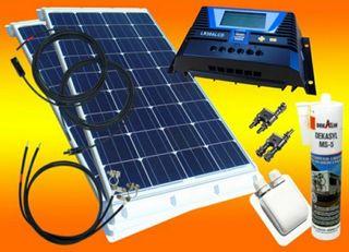 panel Placa Solar autocaravana caravana nuevo