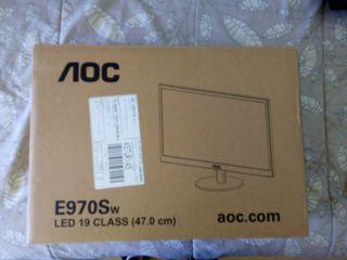 """pantallas ordenador 19"""" AOC"""