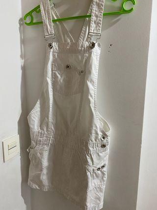 Peto falda blanco
