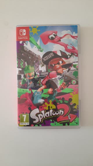 Vendo videojuego Splatoon 2 switch