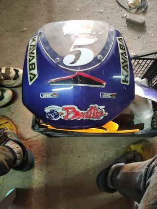 plásticos de minimoto, pitbike de carreras 49cc