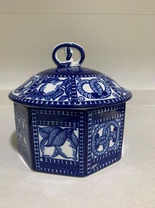 Galletero/bombonera de cerámica (Nuevo)