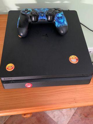 PS4 slim 1tera