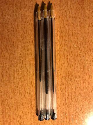 Bolígrafos BIC sin capuchón